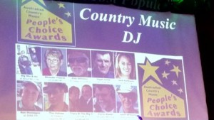 Country Music DJ nominee