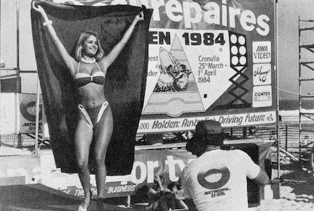 Benz Bikini Parade Elouera Beach 1984