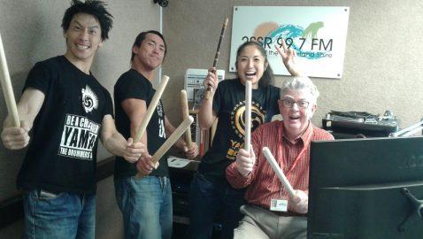 Yamato Drummers interview by Graeme Davies